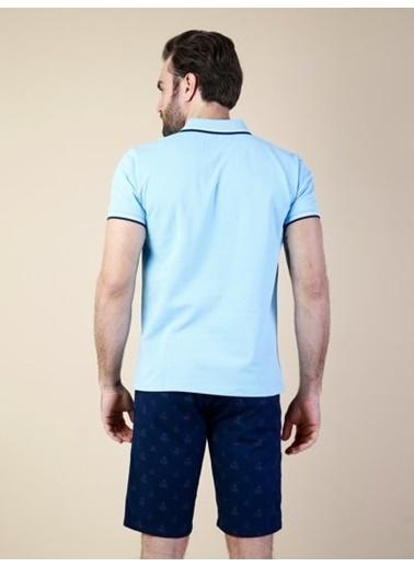 Colin's Polo Yaka Tişört Mavi